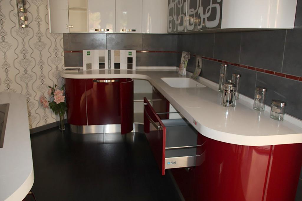 Os mostramos algunas imágenes de nuestra exposición de cocinas.